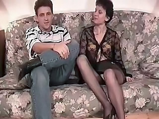 European French Hardcore Mature Older Pantyhose Pornstar