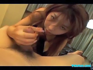 Asian Girl Giving Blowjob...