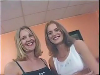 Two Hot British babes get fuck
