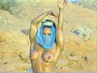 Arab Babe Big Tits Dancing Outdoor
