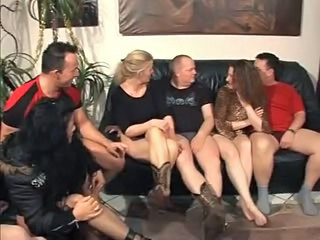 European German Groupsex Orgy Swingers
