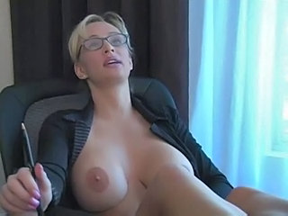 Big Tits Glasses MILF Nipples