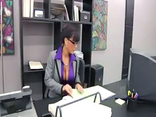 Big Tits Brunette Bus Glasses Pornstar Secretary