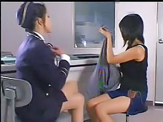 Asian Japanese Lesbian Office Uniform