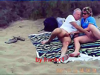 Beach Handjob Older Outdoor