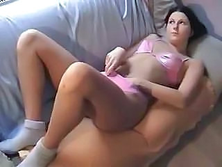 hot shaved brunette amateur