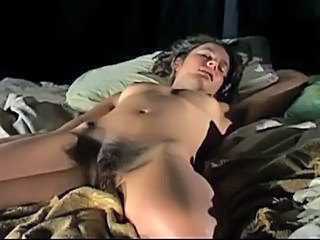 Brunette Hairy Pornstar Sleeping Small Tits