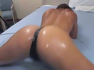 Ass Oiled Panty