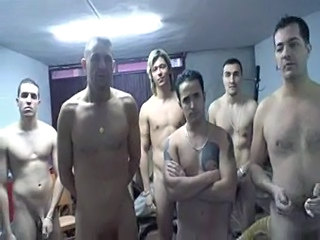 Spanish Hottie Gangbang