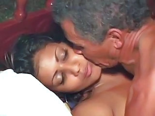 Babe Indian Kissing Old and Young