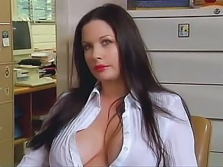 Babe Big Tits Brunette Long hair Pornstar