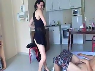 Ultra awesome fucking with slender brunette's delicious beaver