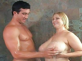 Mature Fucking Busty Bitches in The Shower