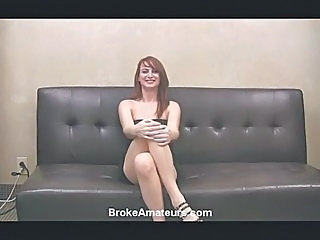 Red haired amateur girl first sex video.
