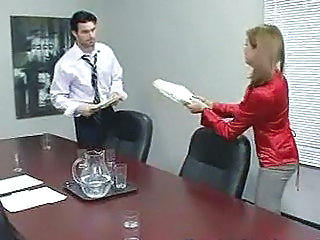 Office Whore Fucking Her Boss For A Raise