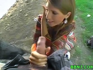 Amateur Handjob Outdoor Teen Young