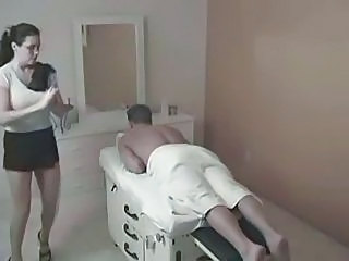 Brunette  Massage