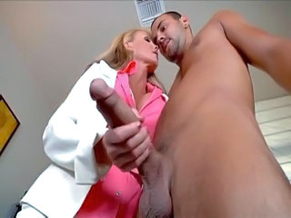 Big cock Big Tits Blonde Bus Handjob MILF Office Pornstar