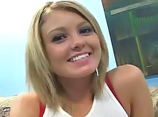 Blonde Cute Teen