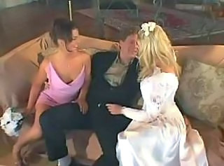 Horny wild wedding night Michelle Katz and Isabel Ice