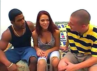 Groupsex Interracial Threesome