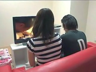 Mother and son watching porn together experiment - 6
