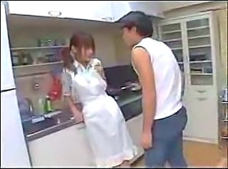 Young Asian Maid Fucked -censured - F70