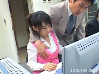 Asian Cute Japanese Office