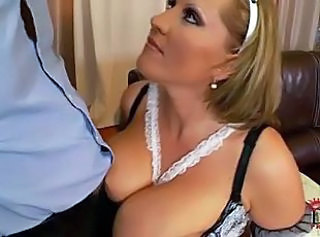 Big Tits Maid Natural Uniform