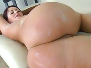Bubble butt Sophie Dee gets her ass plastered with jizz
