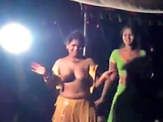 Stage dance in india