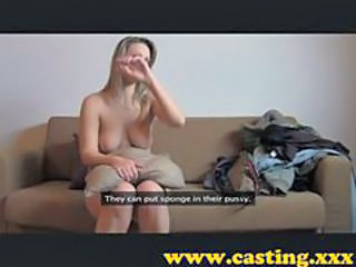 Casting - extra footage of this hot babe
