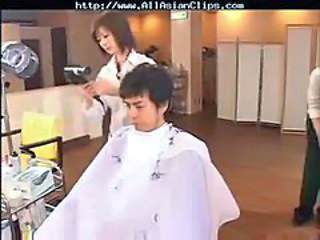 Barber Censored - asian cumshots asian swallow japane...