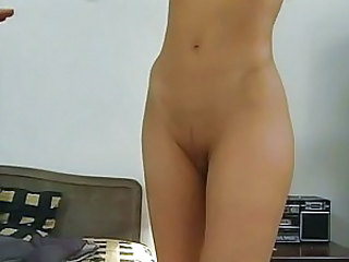 European Hardcore Shaved Strapon Teen