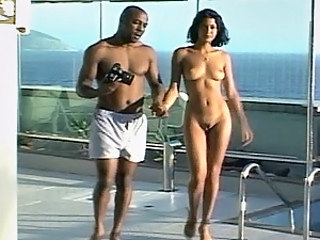 This black dude has so sexy and curvaceous babe to fuck that I don't want so much as look at their direction, cuz I know how fucking good he is going to tap her! And that makes me jealous like sin! Multiple positions and generous cumshot is guaranteed in