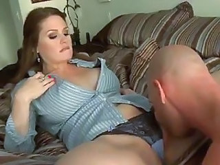 Alison Moore is sick and tired of sex with her husband. She seduces handsome stud Johnny Sins and soon finds his dick in her smooth wet needy pussy, Man loves her hot hole.