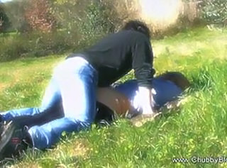 Made Love On The Grass _: blondes hardcore public nudity