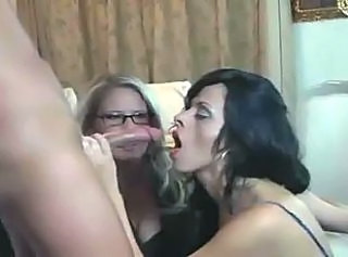 Hot Mommy Friend Son Threesome