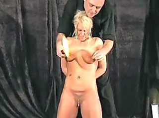 English Crystel Leis Electro Bdsm and Extreme Tit Torments