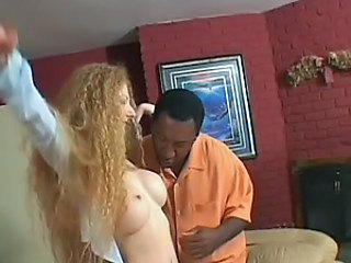 Hairy Natural Redhead Gets a Rough Fuck and a Mouthful Of Hot Cum