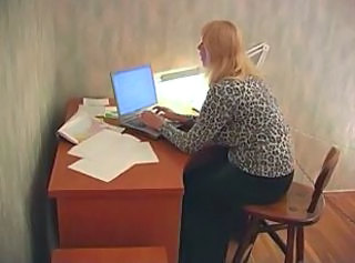 RUSSIAN MOM 20 blonde mature with 2 young men _: matures milfs old+young