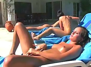 hot jamie masturbates in front of friends