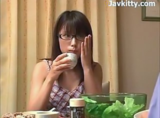 Amateur Cute Glasses Japanese