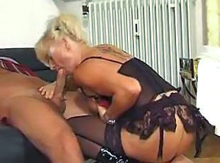 Blonde Blowjob German Lingerie Mature Stockings Tattoo