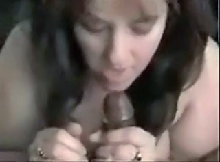 Amateur Blowjob Brunette Handjob Interracial