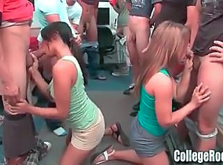 College Dorm Pranks and Blowjob Party