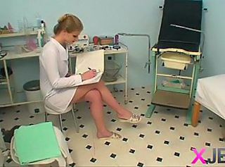 Amateur Blonde Cute Nurse Teen Uniform