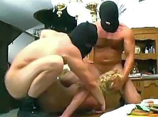 Blonde Blowjob Forced Hardcore Italian Threesome