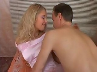 Amateur Blonde Bride Cute