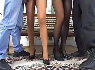 FFMM Anal Foursome Side by Side